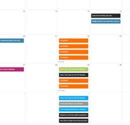 CRM calendrier