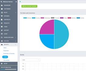 XRM gestion et édition de rapports